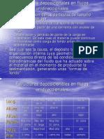 Estructuras Deposicionales en Flujos Unidireccionales