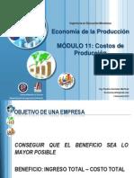 11.- Los costos de Producción