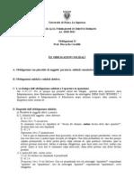 Corso Di Alta Formazione in Diritto Romano Fin