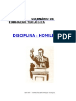 Apostila  HOMILÉTICA I