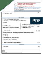 Training Sheet 12