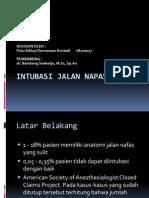 Intubasi Jalan Napas Sulit1