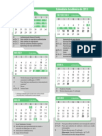 CalendarioAcademico2013 - UNICEUB