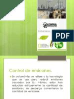 Control de Emisiones Materia