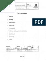 GCF-PR-030 Análisis de Mortalidad