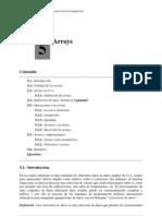 Arrays Manual