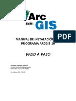 Manual Paso a Paso - Instalacion ArcGIS 10