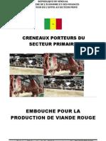 Embouche Production de Viande Rouge