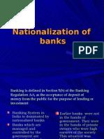 Bank Nationalization- Economics