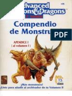 AD&D 2.0 Compendio de Monstruos