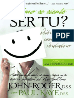 Como Se Siente Ser Tu - John Roger y