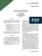Amelunxen, P, Bagdad Concentrator Process Control Update