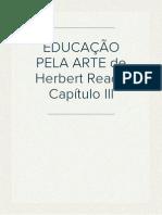 EDUCAÇÃO PELA ARTE IV