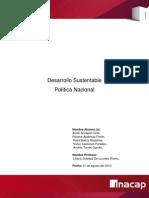 Desarrollo Sustentable Politica Nacional