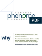 Venture Phenome Project Overview