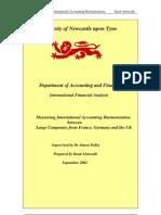 Measuring Accounting Harmonization