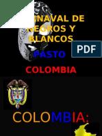 Carnaval de Negros y Blancos Con Diapositivas en Ingles Falta