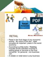 Opportunities in Retail Industry