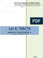 LEI 6766 Analise Doutrinaria e Jurisp