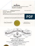 portfolio credentials
