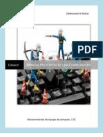 Manual Preventivo de Una Computadora