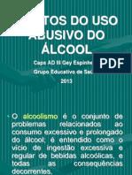 efeitos do uso abusivo do álcoll