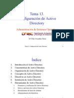 Configuracion de Active Directory