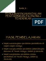 Bab 7.4 Perubahan Pendidikan Melayu, Cina, Ingg