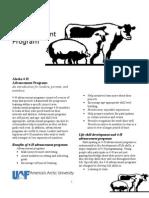 AK Livestock Advancement Program