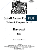 Small Arms Training (British) Bayonet - 1937