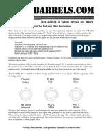 AR15 Barrel Nut Indexing