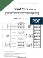 Hindi grammar worksheet - Present tense (action in simple present)