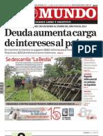 Diario El Mundo 260813
