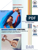 Presentación Magistratura Virtual