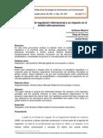Mastrini, G., De Charras, D. y Farina, I - Nuevas formas de regulación internacional y su impacto en el ámbito latinoamericano (2011)