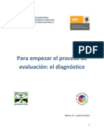 DIAGNOSTICO INICIAL PREESCOLAR