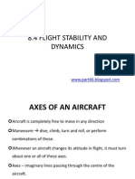 Dynamics and Flight Stability
