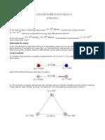 1ª LISTA-Física III