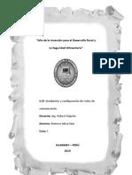 TAREA SEMANA 1 y 2 [Instalación y configuración de redes de comunicación ].docx