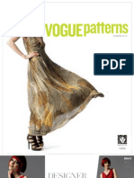 Vogue Patterns Summer 2013 Lookbook