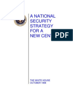 A National Security Strategy for a NEW CENTURY-PDF