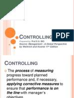 Part 5 -Controlling