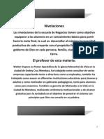1º+Nivelación+Escuela+de+Negocios+Prof+Walter+Dupans