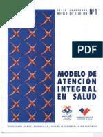 2005 Modelo de Atencion Integral en Salud-Cuaderno Modelo Atencion No 1