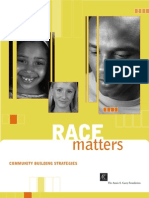Race Matters Community Building Strategies
