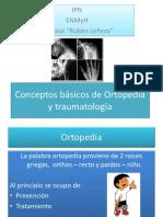 Conceptos basicos de Ortopedia y traumatología