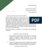 contestacion de demanda de pago de da+¦os y perjuicios