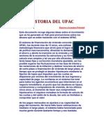 Historia Del Upac