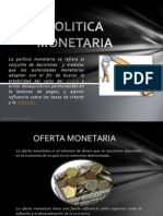 Politica Monetaria Presentacion
