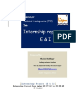 Internship Report Electrical Department FFC-MM